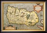 Map of Ireland Prints by Abraham Ortelius