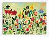 Wild Field Framed Giclee Print by Kim Parker