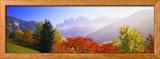 Dolomites Alps, Italy Gerahmter Fotografie-Druck von  Panoramic Images