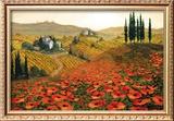 Hills of Tuscany II Framed Giclee Print by Steve Wynne