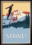 Strive! Plakát