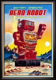 Battery Operated Hero Robot Posters