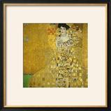 Mrs. Adele Bloch-Bauer, 1907 Framed Giclee Print by Gustav Klimt