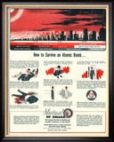 Humour Nuclear Atomic Bombs, USA, 1951 Prints