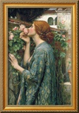 The Soul of the Rose, 1908 [Kalinograph] Gerahmter Giclée-Druck von John William Waterhouse