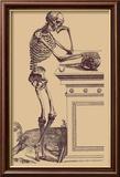 Leaning Skeleton Poster von Andreas Vesalius