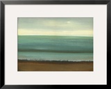Calm Sea Framed Giclee Print by Caroline Gold