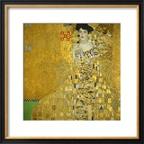 Mrs. Adele Bloch-Bauer, 1907 Framed Giclee Print by Gustav Klimt