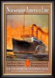 Norwegian-America Cruise Line Prints