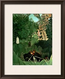 The Monkeys, 1906 Framed Giclee Print by Henri Rousseau