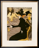 "Poster Advertising ""Le Divan Japonais"", 1892 Framed Giclee Print by Henri de Toulouse-Lautrec"