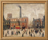Coming Home from the Mill Framed Giclee Print by Laurence Stephen Lowry