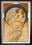 Painting Prints by Alphonse Mucha