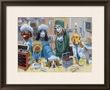 E. R. Framed Giclee Print by Bryan Moon