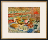 The Yellow Books, c.1887 Framed Giclee Print by Vincent van Gogh