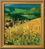 Riquewihr Gerahmter Gicl&#233;e-Druck von Philip Craig