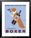 Appellation Boxer Framed Giclee Print by Ken Bailey
