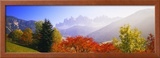 Dolomites Alps, Italy Framed Photographic Print by  Panoramic Images