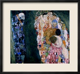 Death and Life, circa 1911 Framed Giclee Print by Gustav Klimt