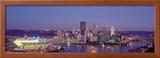 Pittsburgh, Pennsylvania, USA Framed Photographic Print by  Panoramic Images