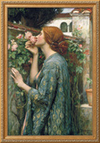 The Soul of the Rose, 1908 Framed Giclee Print by John William Waterhouse