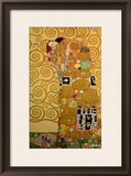 Fulfillment, Stoclet Frieze, c.1909 Framed Giclee Print by Gustav Klimt