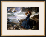 Miranda, the Tempest, 1916 Framed Giclee Print by John William Waterhouse