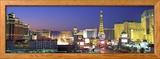 Dusk, the Strip, Las Vegas, Nevada, USA Gerahmter Fotografie-Druck von  Panoramic Images