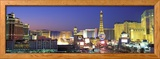 Dusk, the Strip, Las Vegas, Nevada, USA Ingelijste fotodruk van Panoramic Images,