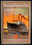 Norwegian-America Cruise Line Kunstdrucke