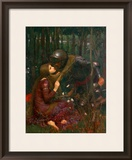 La Belle Dame Sans Merci, 1893 Framed Giclee Print by John William Waterhouse