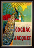 Cognac Jacquet Poster by Camille Bouchet