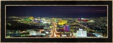 Skyline, Las Vegas, Nevada, USA Ingelijste fotodruk van Panoramic Images,