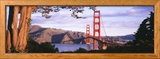 Golden Gate Bridge in San Francisco Ingelijste fotodruk van Panoramic Images,
