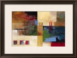 Urban Country I Framed Giclee Print by  Judeen