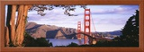 Golden Gate Bridge, San Francisco, California, USA Framed Photographic Print by  Panoramic Images