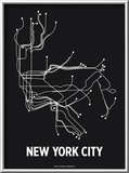 New York City Posters by  Line Posters