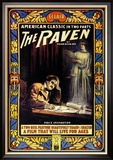 "Edgar Allen Poe's ""The Raven"""""" Juliste"