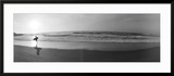 Surfer, San Diego, California, USA Framed Photographic Print by Panoramic Images