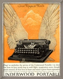 Underwood Portable Typewriters Equipment, USA, 1922 Print