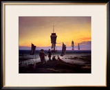 The Stages of Life, circa 1835 Framed Giclee Print by Caspar David Friedrich
