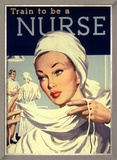 Nurses and Hospitals, UK, 1950 Prints