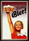Harra! Bier! Kunstdruck von  Gericault