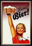 Harra! Bier! Prints by Gericault