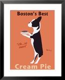 Bostons beste Cremetorte Gerahmter Giclée-Druck von Ken Bailey