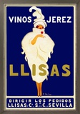 Vinos Jerez Llisas Poster