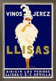 Vinos Jerez Llisas Poster