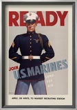 Join U.S. Marines Art by  Sundblom