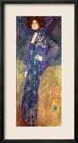 Emilie Floege Gerahmter Giclée-Druck von Gustav Klimt