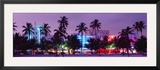 South Beach, Miami Beach, Florida, USA Framed Photographic Print by  Panoramic Images